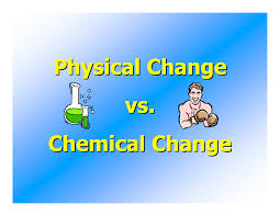 what u0027s the difference between physical and chemical changes in