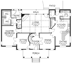 plantation floor plans meghan southern plantation plan 072d 0074 house plans and more