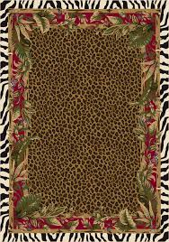 Kids Jungle Rug Jungle Safari Animal Print Rug Animal And Printing