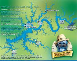 cumberland lake map course map itinerary lake cumberland run