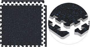 Interlocking Rubber Floor Tiles Trade Show Flooring With Rubber Top