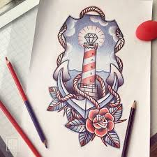 the 25 best lighthouse tattoos ideas on pinterest lighthouse