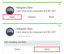 how do you send a telegram new airdroid update brings telegram kik message reply support