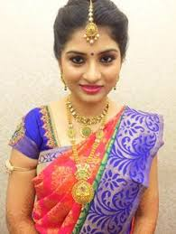 hairstyles for girl engagement ramya looks radiant for her engagement ceremony makeup and