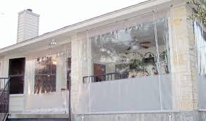 Wind Screens For Decks by Drop Curtains U0026 Solar Screens