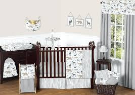 grey chevron crib bedding set buythebutchercover com
