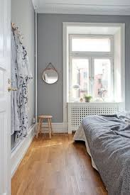 gray walls white trim dark floors by manda color design