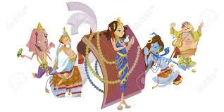 Ganesh Puja Invitation Card God Ganesha Invitation Cards Dawali Holiday Raster Illustration