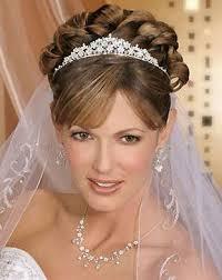 bridal hairstyle for marriage tiara wedding hairstyles ideas for brides hairzstyle com