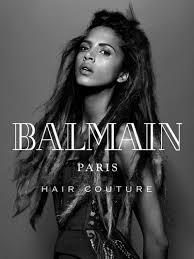 balmain hair balmain hair couture winter 2016 caign photos balmain hair