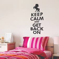 keep calm get back on wall quotes decal wallquotes com