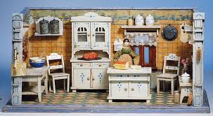 dolls house kitchen furniture german wooden doll house kitchen with furnishings part 2