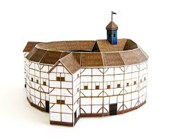 globe theatre crafts kit for building your own replica of