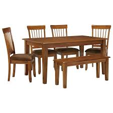 Ashley Furniture Berringer  X  Table With  Chairs  Bench - Ashley furniture dining table bench