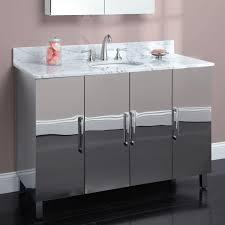 Stainless Steel Bathroom Vanity Cabinet Metal Bathroom Vanity Silver Top Bathroom Special Ideas About