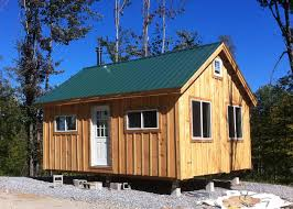 16x24 post and pier cabin vermont cottage b build a cabin kit cottage kits for sale