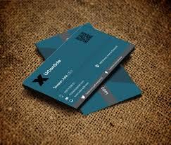 card template psd modern business cards templates design free high