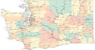 50 State Map Sequim Wa Map