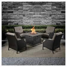 target fire pit table capitol peak 5 piece patio fire pit set target