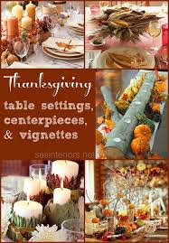 thanksgiving table settings and centerpieces burger