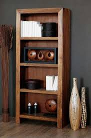Discount Solid Wood Bookcases Cube Bookcase Indian Solid Sheesham Wood Furniture Saraf
