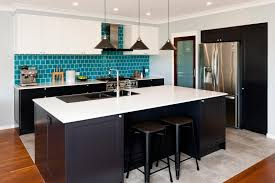 kitchen design after kitchen renovation black white polyurethane