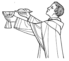 coloring page mass coloring pages holy orders 4 page mass