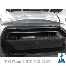 Dodge Gun Vaults Trunk Mounted Firearms Locker Police Vehicle Weapon Safe