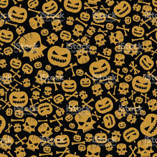 halloween seamless backgrounds vector halloween seamless background stock vector art 607987010