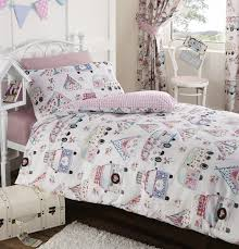 girls bedding and curtains 66x72