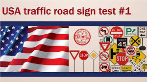 Mva Flags Usa Traffic Road Sign Test 1 Youtube