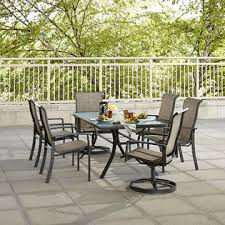 K Mart Patio Furniture Hoffman 6 Dining Patio Chairs Kmart