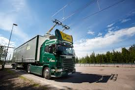 electric company truck world u0027s first electric road opens in sweden scania group