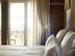 bedroom window cornice navy curtains blinds window coverings