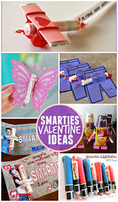 kids valentines gifts ideas for kids using smarties candy crafty morning