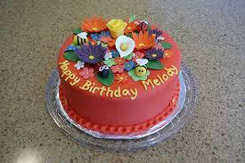 rise and bake a flower garden cake