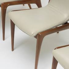 shield back dining room chairs 353 vladimir kagan sling dining chairs model vk 101 set of