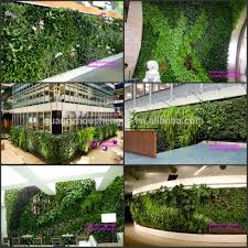 Wall Gardening System by China Selling Vertical Garden System Artificial Plant Wall For