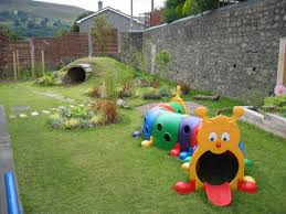 Small Space Backyard Landscaping Ideas Creative Tunnels With Cute Character As Playground For Backyard