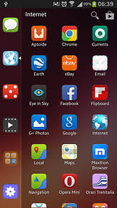 themes mobile android smart launcher ubuntu theme for android mobile chattk com