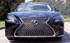 lexus ls 500 coupe 2018 lexus ls 500 review autoguide com news