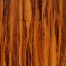 Prefinished Laminate Flooring Tropical Siberian Tigerwood 12 Mm X 6