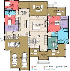 craftsman homes floor plans stunning craftsman home plan with optional lower level 86297hh