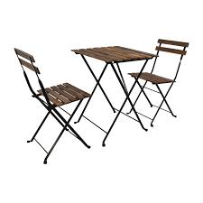 46 off ikea ikea tarno folding table and two folding chairs