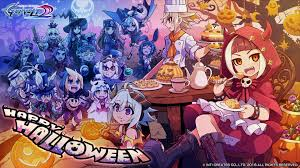 anime halloween wallpaper halloween wallpaper azure striker gunvolt know your meme