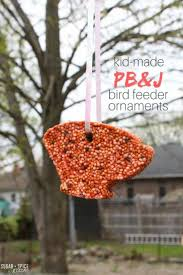 pb j bird seed ornaments sugar spice and glitter