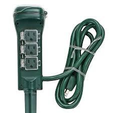 ge outdoor lighting control furniture amp plug dual outlet light sensing timer the home