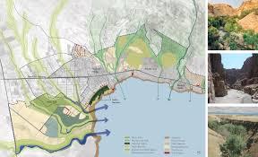Dead Sea Map Gallery Of A Vision Plan For The Dead Sea Sasaki Associates 5