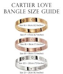 size cartier bracelet images Cartier love bangle size guide designer gems jewelry watches jpg
