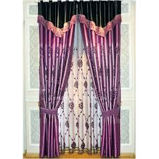 Thermal Energy Curtains Designed Thermal Energy Saving Purple Panel Curtains
